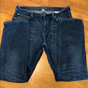 Men's banana republic slim fit jeans 36x32
